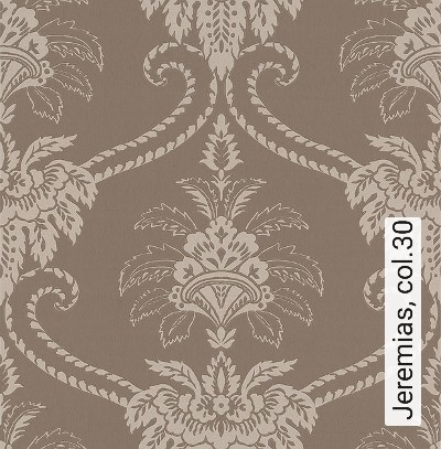Jeremias,-col.30-Blumen-Klassische-Muster-Barock-Gold-Braun-Perlmutt