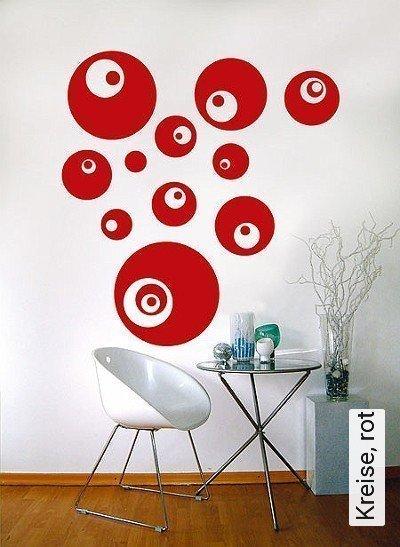 Kreise,-rot