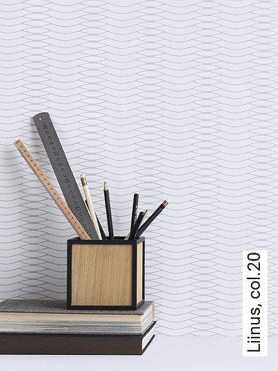 Liinus,-col.20-Wellen-Graphisch-Grafische-Muster-Grau-Weiß