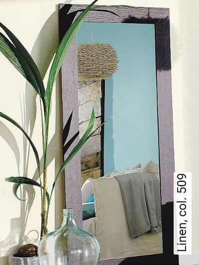 Linen,-col.-509-Uni-Moderne-Muster-Türkis