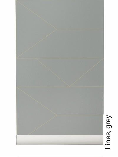 Lines,-grey-Linie-Grafische-Muster-Grau