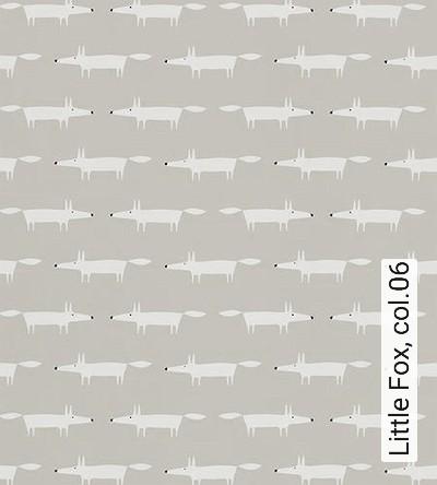 Little-Fox,-col.06-Tiere-KinderTapeten-Schwarz-Weiß-Hellbraun