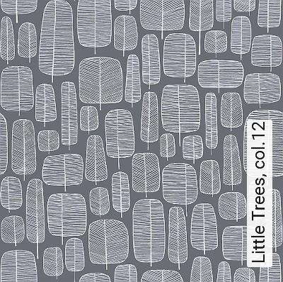 Little-Trees,-col.12-Blätter-20-50er-Moderne-Muster-Anthrazit-Weiß