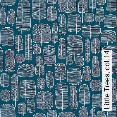 Little-Trees,-col.14-Blätter-20-50er-Moderne-Muster-Weiß-petrol
