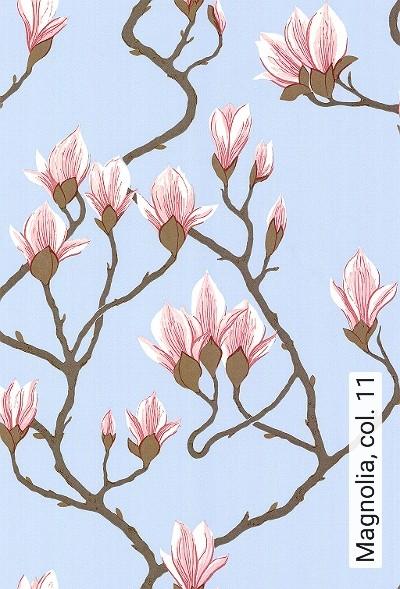 Magnolia,-col.-11-Blumen-Florale-Muster-Braun-Rosa-Hellblau