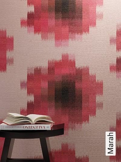 Marah-Blumen-Graphisch-Moderne-Muster