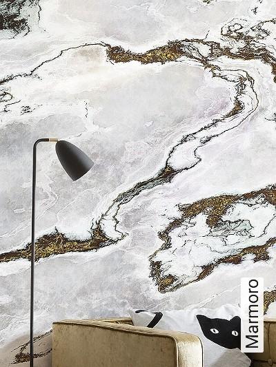Marmoro-Stein-Marmor-FotoTapeten-Grau-Braun-Weiß