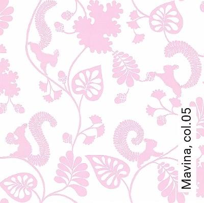 Mavina,-col.05-Tiere-Blätter-KinderTapeten