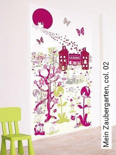 Mein-Zaubergarten,-col.-02-Landschaft-KinderTapeten-Multicolor