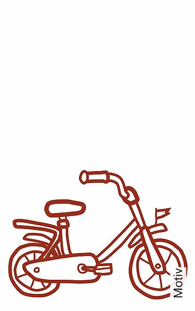Meine-kleine-Werkstatt,-Fahrrad-KinderTapeten-Rot