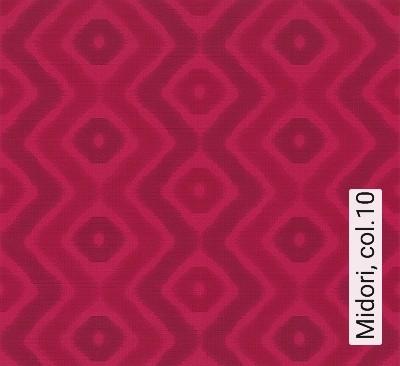 Midori,-col.10-Wellen-Rauten-Moderne-Muster-Pink-weinrot