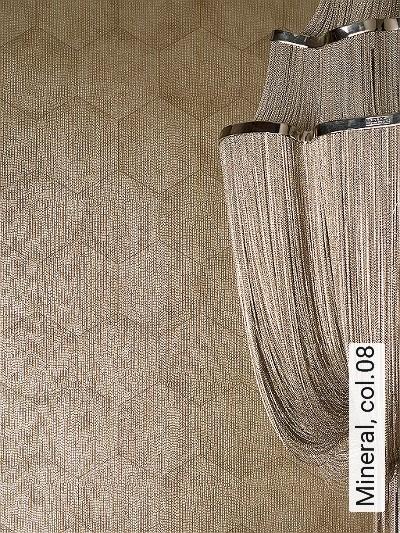 Mineral,-col.08-Kachel-Quadrate/Rechtecke-Grafische-Muster-Gold-Braun