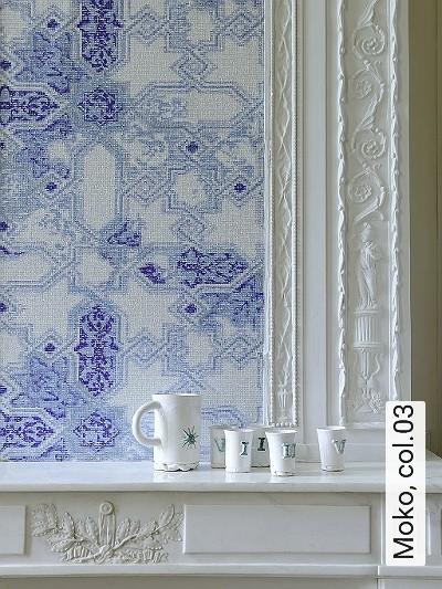 Moko,-col.03-Ornamente-Kachel-Orientalisch-Moderne-Muster-Blau-Grau-Weiß-Perlmutt-Hellblau