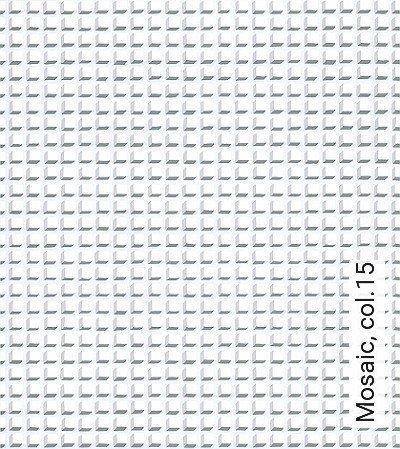 Mosaic,-col.15-Quadrate/Rechtecke-Graphisch-Grafische-Muster-Grau-Anthrazit-Weiß