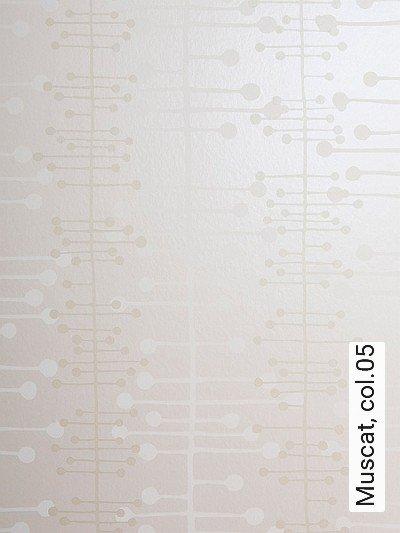 Muscat,-col.05-Kreise-Linie-Moderne-Muster-Weiß-Perlmutt