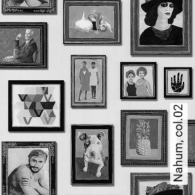 Nahum,-col.02-Bilderrahmen-Moderne-Muster-Grau-Anthrazit-Schwarz-Creme