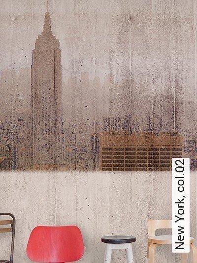 New-York,-col.02-Schemen/Silhouetten-FotoTapeten