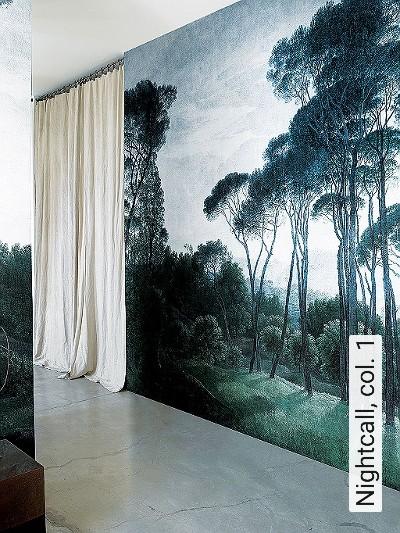 Nightcall,-col.-1-Landschaft-Florale-Muster-FotoTapeten-Multicolor