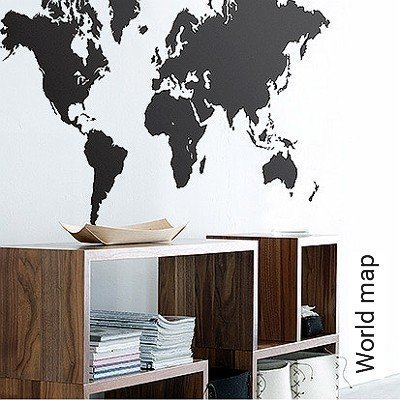 Bild: Walltatoo - World map