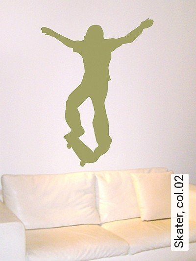 Bild: Walltatoo - Skater, col.02
