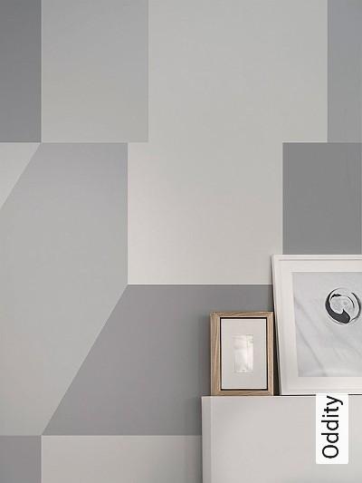 Oddity-Graphisch-FotoTapeten-Grafische-Muster-Grau-Weiß