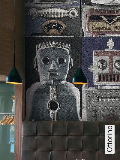 Ottorino-Figuren-FotoTapeten-Silber-Grau-Braun-Schwarz-Weiß