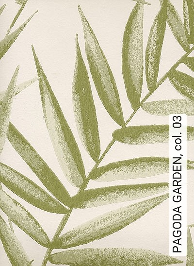 PAGODA-GARDEN,-col.-03-Blätter-Florale-Muster-Olive-Creme