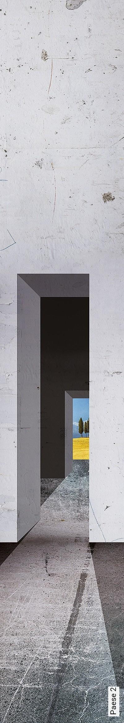 Paese-2-Landschaft-Moderne-Muster-Grau-Gelb-Anthrazit-Hellblau