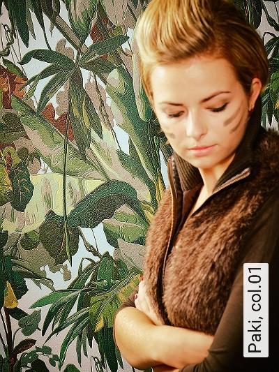 Paki,-col.01-Blätter-Florale-Muster-Grün-Braun