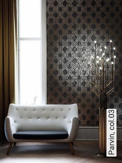 Parvin,-col.03-Ornamente-Orientalisch-Silber-Schwarz