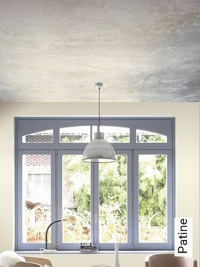 Patine-Stein-Farbverlauf-FotoTapeten-Grau-Anthrazit-Creme
