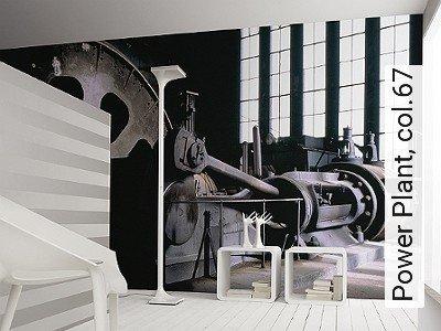 Power-Plant,-col.67-Gegenstände-FotoTapeten-Rosa-Schwarz-Weiß