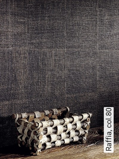 Raffia,-col.80-Gewebe-Stoff-Moderne-Muster-Braun-Schwarz-Bronze