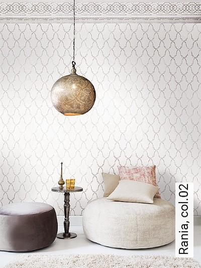 Rania,-col.02-Ornamente-Stoff-Orientalisch-Blau-Grau-Schwarz-Weiß