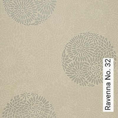 Ravenna-No.-32-Blumen-Moderne-Muster-Gold