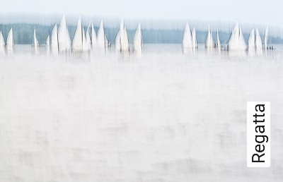 Regatta-Wolken-Schiffe-Farbverlauf-Moderne-Muster-FotoTapeten-Grau-Weiß-mint-petrol