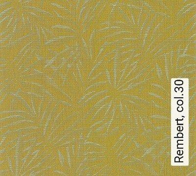 Rembert,-col.30-Blätter-Stoff-Florale-Muster-Grün-Perlmutt-limette