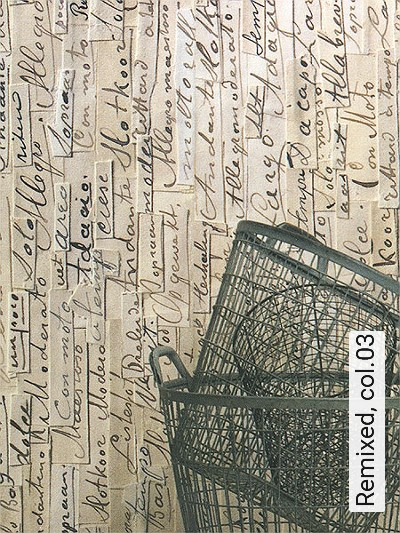 Remixed,-col.03-Papier-Text-Collage-Moderne-Muster