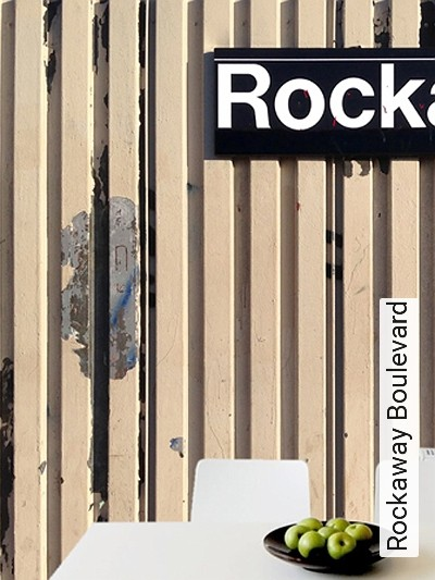 Rockaway-Boulevard-Patina-Moderne-Muster-FotoTapeten-Schwarz-Weiß-Creme-Hellblau