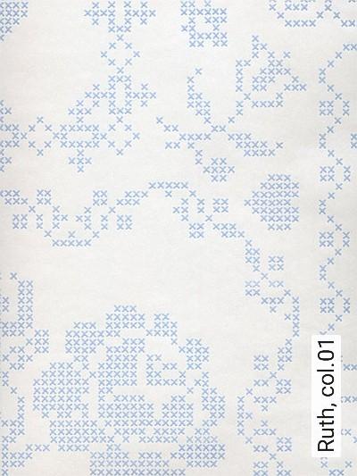 Ruth,-col.01-Stickerei-Moderne-Muster-Weiß-Perlmutt-Hellblau