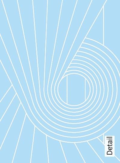 SPIRAL,-col.-05-Kreise-Linie-Retro-Muster-Grafische-Muster-Weiß-Hellblau