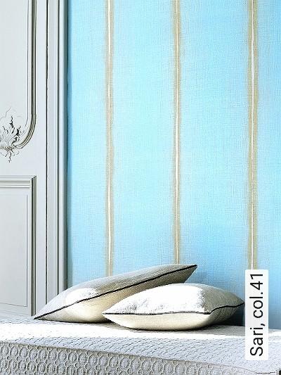 Sari,-col.41-Streifen-Stoff-Moderne-Muster-Grau-Creme-mint