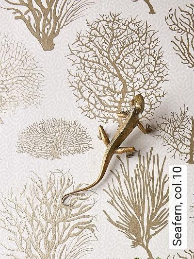 Seafern,-col.10-Unterwasserwelt-Korallen-Moderne-Muster-Gold-Grau-Creme