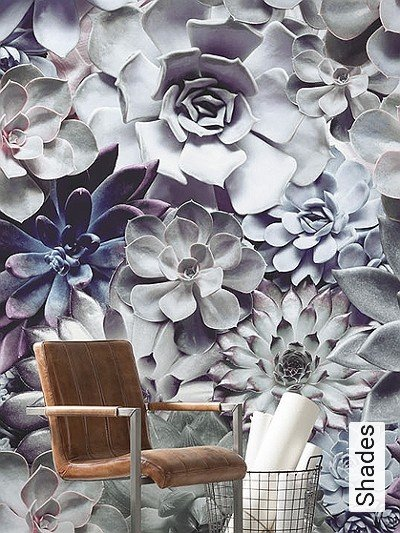 Shades-Blumen-FotoTapeten-Weiß-Flieder