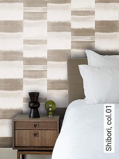 Shibori,-col.01-Streifen-Farbverlauf-Moderne-Muster-Grau-Weiß