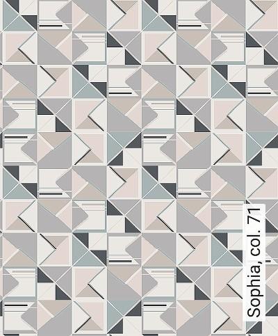 Sophia,-col.-71-Dreiecke-Grafische-Muster-Art-Deco-Gold-Schwarz-Creme-Hellblau