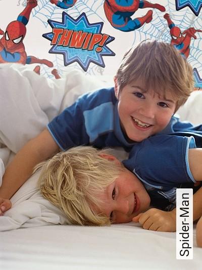 Spider-Man--Figuren-KinderTapeten