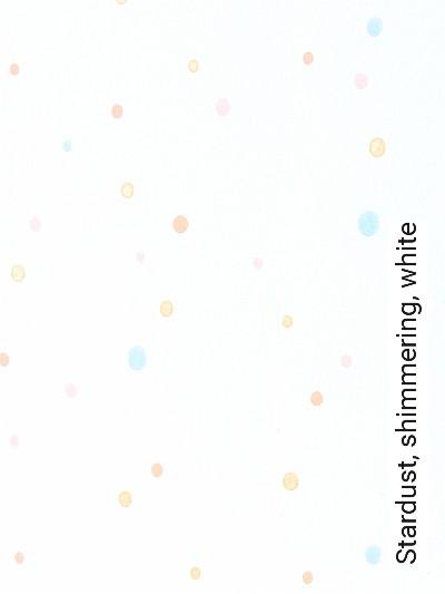 Stardust,-shimmering,-white-Punkte-Moderne-Muster-KinderTapeten-Rosa-Hellgrün-Weiß-Ocker