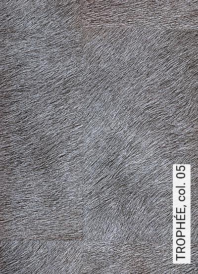 TROPHÉE,-col.-05-Tierhaut-Fell-Moderne-Muster-Grau-Anthrazit