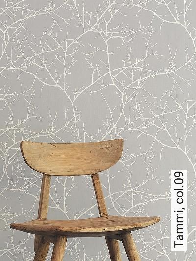 Tammi,-col.09-Äste-Florale-Muster-Grau-Weiß
